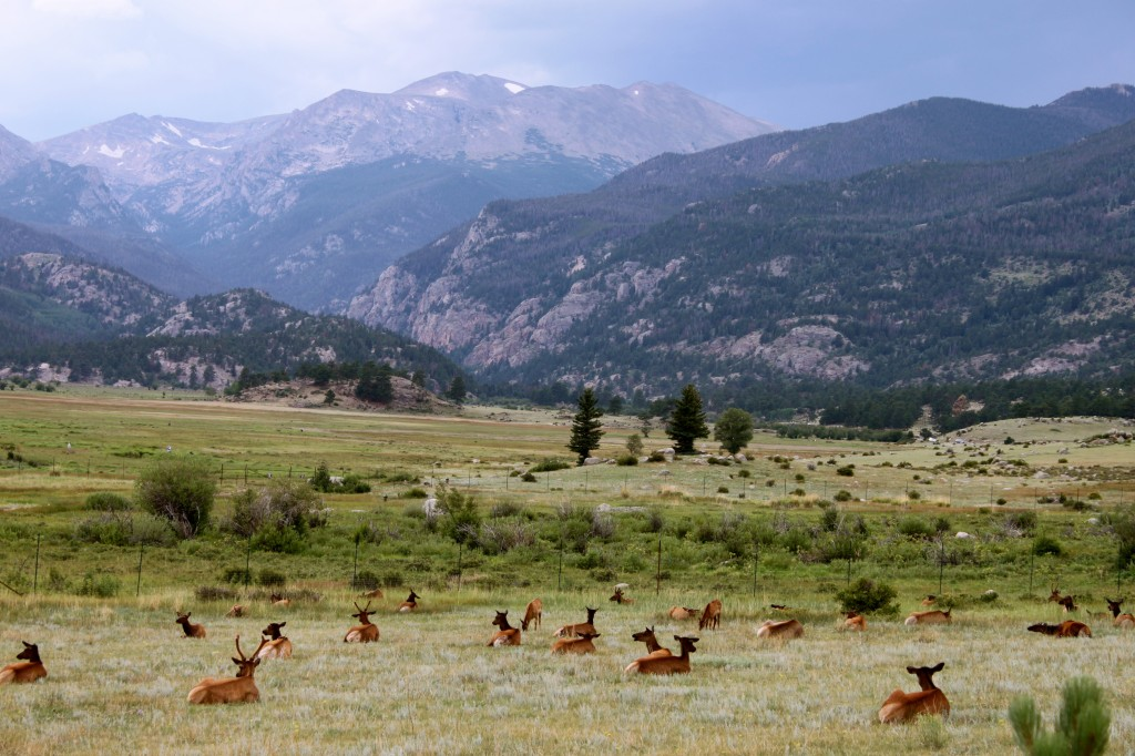 Just another day in the Rockies.